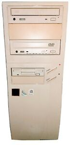 PENTIUM PRO PC 166MHZ 128MB DUAL SCSI CARD DISK, WIPED READY TO GO.