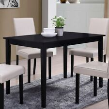 Black Dining Table. Up to 4 seats (NEW)