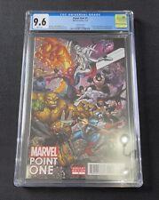 Marvel Point One #1 Bradshaw Variant CGC 9.6 1st Appearance Sam Alexander Nova