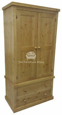 Pine Traditional Wardrobes with 2 Doors
