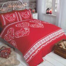 Linge de lit et ensembles sans marque avec des motifs Cœurs