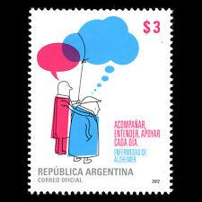 Argentina 2012 - Alzheimer's Disease Science Art - Sc 2661 MNH