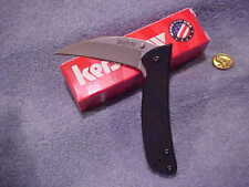 KERSHAW TALON II 1425 Assisted Knife Plain New in Box DISCONTINUED Black WgSI