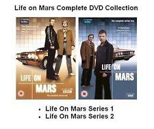 LIFE ON MARS COMPLETE SERIES 1 2  John Simm, Philip Glenister, Dean UK R2 DVD