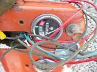 Coop E3 tractor Original dash holder panel w/ IH gauge & wire harness & switch