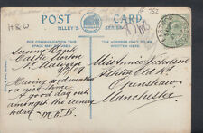 Family History Postcard- Nicholson - Ashton Old Road, Openshaw, Manchester RF752