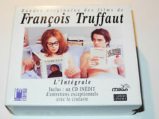 Bandes originales des films de FRANÇOIS TRUFFAUT L'Intégrale Coffet 5 CD Milan