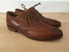 Cole Haan Cambridge Wing Oxford Men's Leather Round Toe Shoes C12915 Tan 11 M