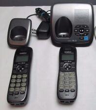 Uniden DECT1480-3 1.9 GHz Two Handsets Single Line Cordless Phone