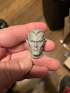 "Mego FTC Zica Retro Custom Prince Namor Sub-Mariner Head For 8"" No Peg 1/9"