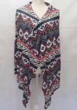 Womens Girls Xhilaration Light Cardigan Shawl Sweater  Petite S/P Multicolor  B2