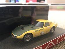 RARE! HPI #8327 Toyota 2000GT 1966 Speed Trial 1/43 Resin Model JDM SCCA