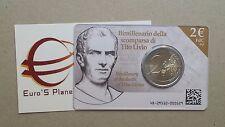 coin card 2 euro fdc Italia 2017 Tito Livio Italie Italy Italien Италия 意大利