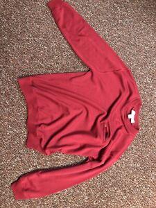 Men's Vintage Patagonia Wool Sweater Red Sz XL