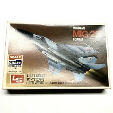 LS 1/144 SCALE CRAFT LS MIKOYAN MIG-25 FOXBAT Model Airplane Vintage Aircraft