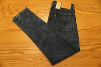 NWT MEN'S LEVI JEANS 510 Multiple Sizes Skinny Fit At Waist Stretch Dark Wash