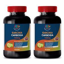 Fat Burner Drink Mix - Garcinia Extract 60% 1300mg - Garcinia Burn Capsules 2B