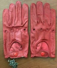 Men's Soft Genuine Sheep Leather Driving Gloves