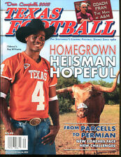 2003 Dave Campbell's Texas Football Magazine Roy Williams Longhorns Ex