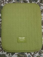 michael kors tablet lime green sleeve with zipper closure