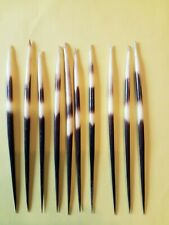 7 inch porcupine quills