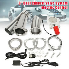 3'' Electric Exhaust Valve Catback Downpipe System Remote Cutout E-cut Out AU