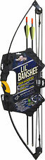 BARNETT LIL BANSHEE COMPOUND ARCHERY KIT JUNIOR - YOUTH 18LB DRAW..WITH ARROWS