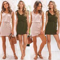 Beach Short Boho Maxi Dress Women Cocktail Party Evening Summer Dresses Sundress