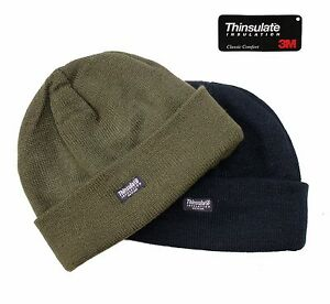 Winter Hat 3M Bob US Army Military Watch Cap Outdoor Work Fishing Camping Beanie