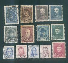 Czechoslovakia Mix used stamps #2