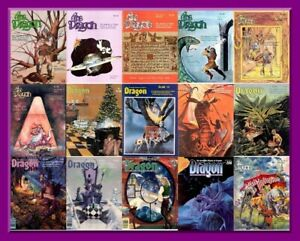 Dragon Magazine - Collection - 430 Magazines + 21 Extras - PDF Download