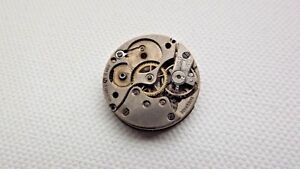 vintage Buser 10.5''' 15 Jewel watch movement for spares