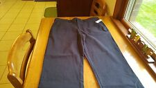 Izod Straight Flat Front Mens Casual Pants Black 36/30 NWT! FREE SHIPPING