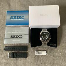 Seiko SRP777 Turtle w/ Uncle Seiko Waffle Strap