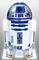 "Star Wars R2D2 Trash can Dust box Wastebasket 60 cm tall 23.6"" from Japan New"
