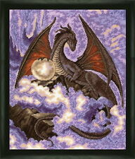 Dragon - Counted Cross Stitch Kit with Color Symbolic Scheme bst:703