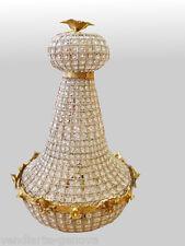 VENDIARTE :ELEGANTE E AFFASCINANTE COPPIA LAMPADARI STILE IMPERO - 900