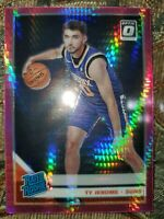 2019 NBA Optic Ty Jerome Hyper Rated Rookie Pink SP #167 Pheniox Suns