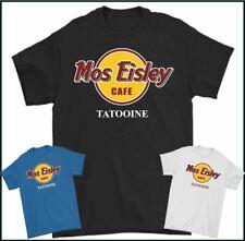 MOS EISLEY T-SHIRT, Cafe,Cantina,Tatooine,Star Wars,Parody,Darth Vader,Yoda,TEE