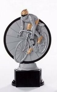 Radsport-Pokal (Resin-Figur) mit Wunschgravur (39120)
