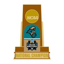NCAA CWS National Champions Coastal Carolina University Collector Pin