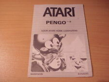 Atari XL/XE - PENGO - Game Manual - Dutch Language