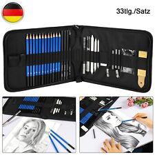 Student Lehrer oder Anf/änger 33 St/ück Charcoal Pencil Skizzierstifte Set Zeichnung Kit f/ür K/ünstler H /& B Zeichnen Set Bleistift