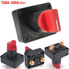 12V BATTERY ISOLATOR SWITCH CUT OFF DISCONNECT TERMINAL UNIVERSAL CAR VAN BOAT