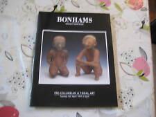 BONHAMS  CATALOGUE PRE COLUMBIAN & TRIBAL ART APR97