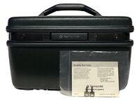 Vintage Samsonite Acclaim Green Travel Train Case Luggage w/Tray & 2 Keys