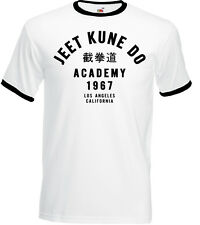 Jeet Kune Do Academy Mens Martial Arts T-Shirt Bruce Lee MMA Bruce Lee Gym Top