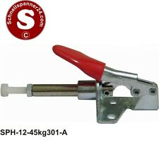 Schubstangenspanner - Haltekraft: 45 kg, Winkel Spannarm: 190°, Kolbenhub: 16mm