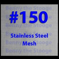 """24""""x24"""" 150 MESH / 100 MICRON WOVEN WIRE MESH STAINLESS STEEL FILTRATION GRADE"""
