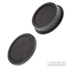 Canon eos corps cap & rear lens cap set. fits all canon ef & optiques EF-S & dslr